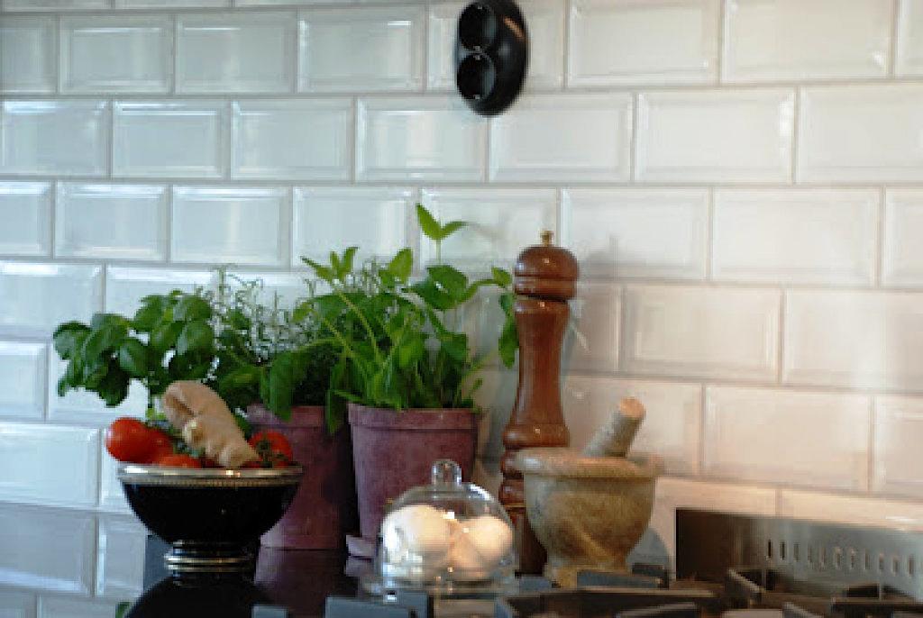 Azulejo blanco ofertas 10x20 20x20 30x60 39x90 rectificado for Azulejos biselados bano